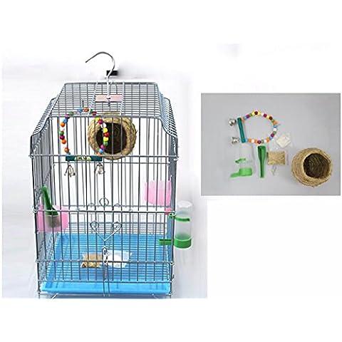 XWG Birdcage / acciaio inossidabile gabbia di uccello / zincato Bird Cage Pigeon gabbia / grande gabbia di uccello / Parrot Cage / Allevamento Gabbia / Bird