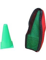 20 Conos de señalización – con bolsa de transporte – verde