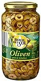 Royal Del Sol - Oliven grün in Scheiben - 900g/450g