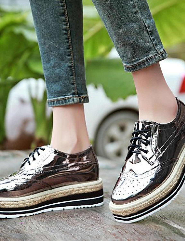 NJX/ hug Zapatos de mujer - Tacón Plano - Comfort - Sneakers a la Moda - Oficina y Trabajo / Vestido / Casual...
