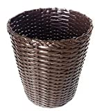 Sonas Creations Paper Dustbin/Garbage Basket for Dry Trash, Large, Brown