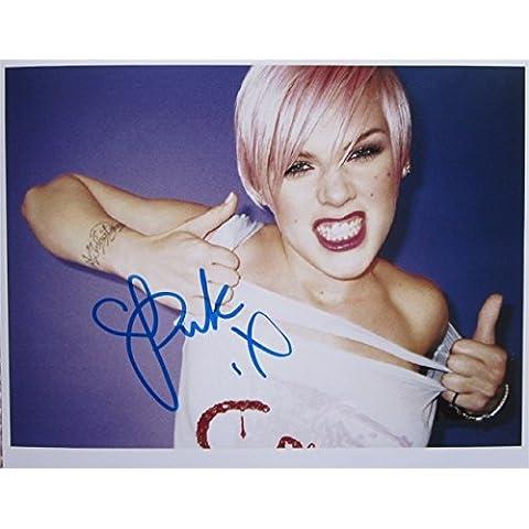 Superb Rosa firmato foto 10x 8+ (Superb Gioiello)