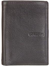 Strellson Carter BillFold V8 4010001188 - Monedero de cuero para hombre, color negro, talla 10x13x1 cm