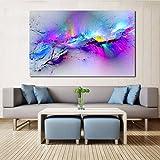 HANHAIBO Wall Bilder Für Wohnzimmer Abstrakte Ölgemälde Leinwand Kunst Home Decor Kein Rahmen, 20 X 30