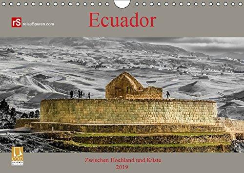 Ecuador 2019 Zwischen Hochland und Küste (Wandkalender 2019 DIN A4 quer): Ecuador - kleines Land mit vielen Facetten (Monatskalender, 14 Seiten ) (CALVENDO Orte)