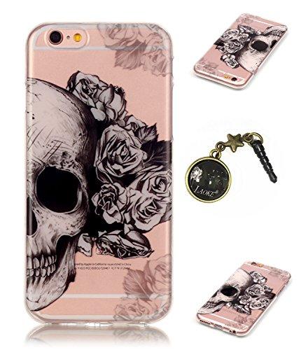 TPU Silikon Schutzhülle Handyhülle Painted pc case cover hülle Handy-Fall-Haut Shell Abdeckungen für Smartphone Apple iPhone 6 +Plus (5.5 Zoll)+Staubstecker (6FB) 6