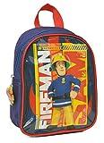 Petit Sac à Dos Sam Le Pompier - Collection Fireman - 25 cm - Convient pour crèches et maternelles Petites Sections