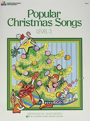 Popular Christmas Songs Level 3 (Bastien Piano Basics)