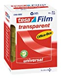 tesafilm Klebeband, transparent, Office-Box mit 12 Rollen, 66m x 12mm