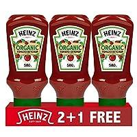 Heinz Organic Tomato Ketchup, 580 gm (2+1 FREE)