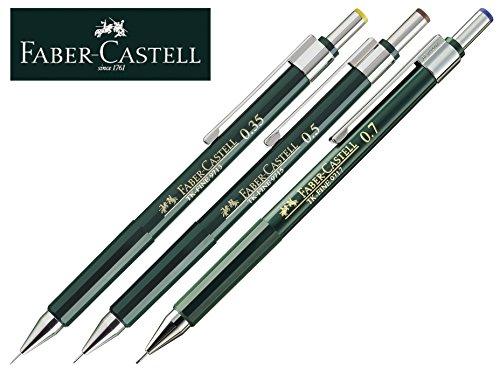 Faber-Castell Druckbleistift TK-FINE (3er Set, Ohne Ersatzminen) (Faber Castell Radierer Tk)