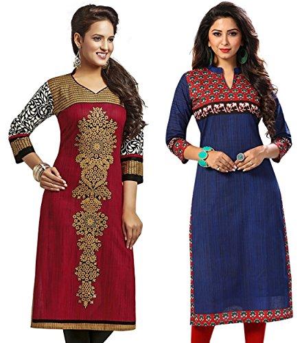 Jevi Prints Women's Cotton Dress Material (Saheli-1225-1523_Free Size_Multi-Coloured)