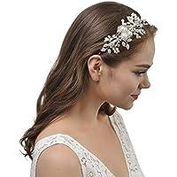 Amazon.es  tocados de boda - AWEI   Diademas   Accesorios de peinado ... 87e14633cc93