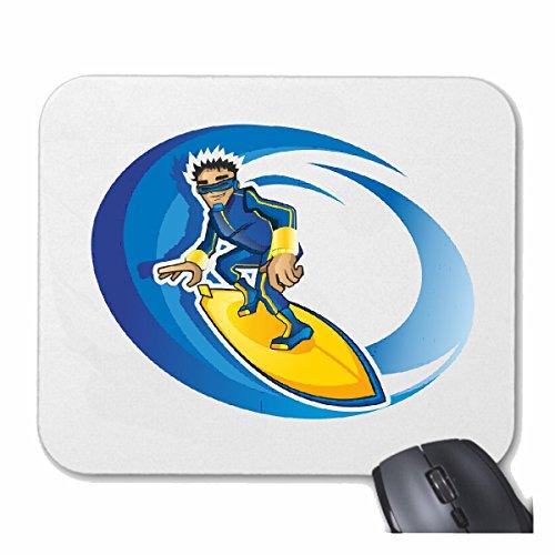 Reifen-Markt Mousepad Skates Hockey Eiskunstlauf Eislaufen Ice Rink Ice Skating Ice Hockey Track Skaten Läufer für Ihren Laptop, Notebook oder PC Internet. (mit Windows, Linux, etc.) in weiß -