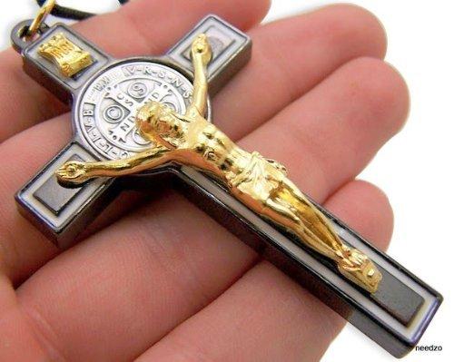 croce-san-benedetto-icona-tono-oro-smalto-nero-ciondolo-a-forma-di-crocifisso-3-inch