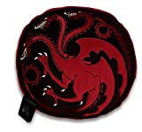 Game of Thrones House Targaryen Deko-Kissen schwarz/rot