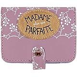 Porte-cartes FOLK Madame plus que parfaite - Derriere la Porte
