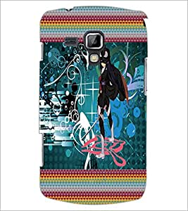 PrintDhaba Fantasy Girl D-6023 Back Case Cover for SAMSUNG GALAXY S DUOS S7562 (Multi-Coloured)