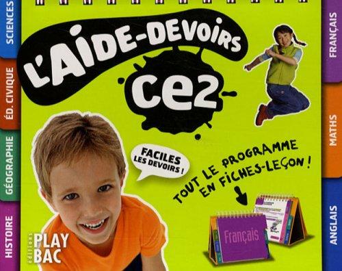 L'aide-devoirs CE2