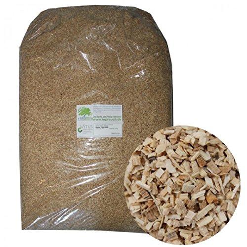 Toprauch Räuchermehl Basic grob 1,0 - 2,5 mm 20kg Räuchergut Räucherholz Räuchern