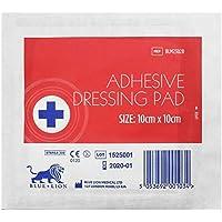 XL Nachfüllpackung, 300 blaue Löwe, 10 x 10 cm, steril, selbstklebend preisvergleich bei billige-tabletten.eu