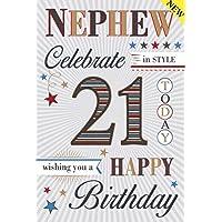 Special Nephew 21st Birthday Card