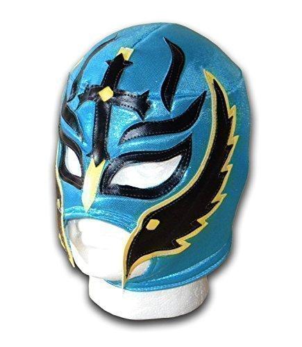 Mexikanische Wrestling-Maske, Design Sohn des Teufels, für Erwachsene, (Fancy Libre Nacho Dress)