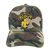 Boy Scouts, Cappello da Palestra in Stile retrò, Unisex, Regolabile, in Cotone Denim Lavato