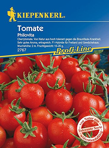 Tomaten: Philovita F1, Lycopersicon lycopersicum - 1 Portion