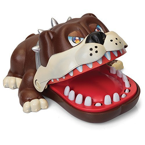 Beißen Bulldog Spiel Kinder Familie Spiele Reisespiele–Versandkostenfrei (Zähne Beißt)