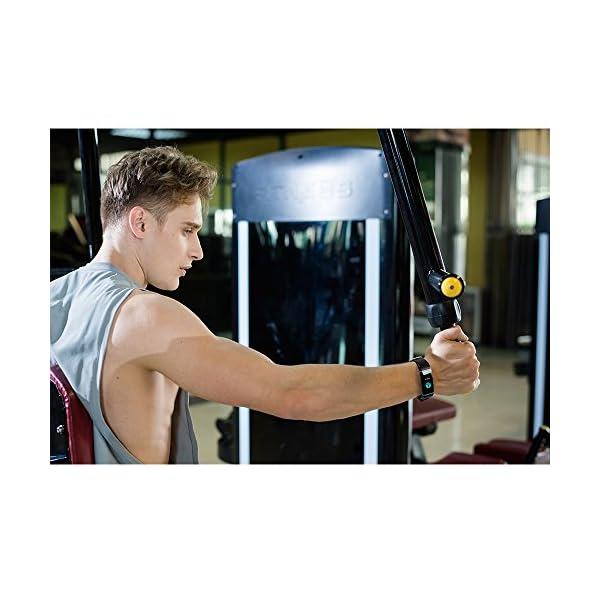 Vigorun Pulsera Inteligente IP68 Impermeable Fitness Tracker Deporte Rastreador de Actividad de Pantalla Colorida con… 8