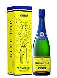 Heidsieck Monopole Champagne Blue Top Brut mit Geschenkverpackung, Sonderausstattung Champagner, 0.75 l