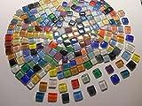 Unregelmäßige Mosaiksteine 500g Bunte Mischung Zum Basteln Klarglas Mosaik