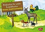 Bildkarten für unser Erzähltheater: Die Bremer Stadtmusikanten: Kamishibai Bildkartenset. Entdecken. Erzählen. Begreifen (Märchen für unser Erzähltheater)