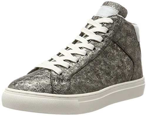 Replay Damen Hall Hohe Sneaker, Grau (Platin), 39 EU