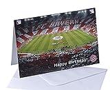 FC Bayern München Karte 'Happy Birthday' Grußkarte
