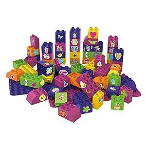 BIOBUDDI Learning to Create 60 pcs 60pieza(s) - Bloques de construcción de Juguete (Multicolor, 60 Pieza(s), Plaza, Imagen, Preescolar, Niño/niña)