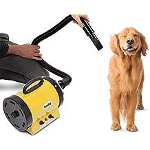 Kenley Secadora De Pelo Para Mascotas Caninas Calentadora - Calor Y Velocidad Ajustable - Amarillo