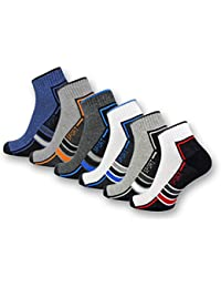 sockenkauf24 6 oder 12 Paar SPORT Sneaker Socken mit verstärkter Frotteesohle Herrensocken Sportsocken - 16215/20