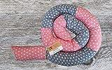 Bettschlange, Rosa/Grau mit Sternen, 180cm/210cm/250cm, Handmade, Baby Nestchen