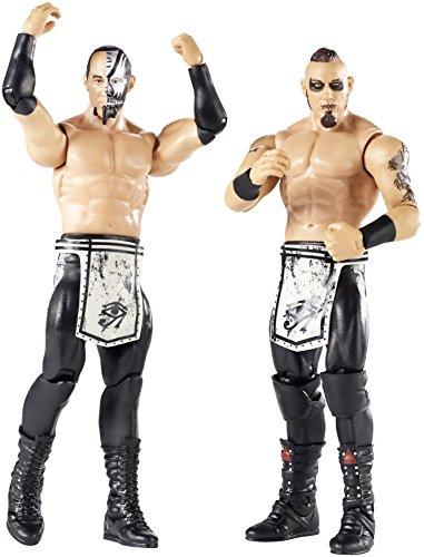 WWE Pack de 2 figuras básicas con accesorios, Konnor y Viktor, wwe figuras (Mattel FMF70)