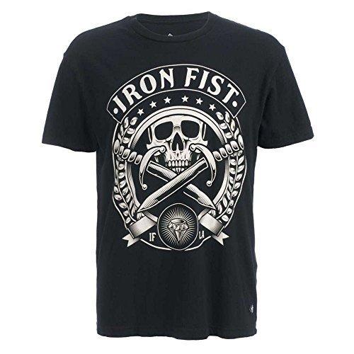 Iron Fist -  T-shirt - Uomo nero X-Small
