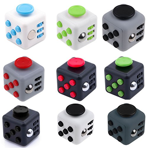 Preisvergleich Produktbild Hot Selling 1PCS Random Color Relieves Stress Depression And Anxiety Attention Fidget Cube For Children and Adults