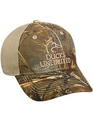 Mossy Oak Ducks Unlimited Realtree MAX 5/Khaki Cap
