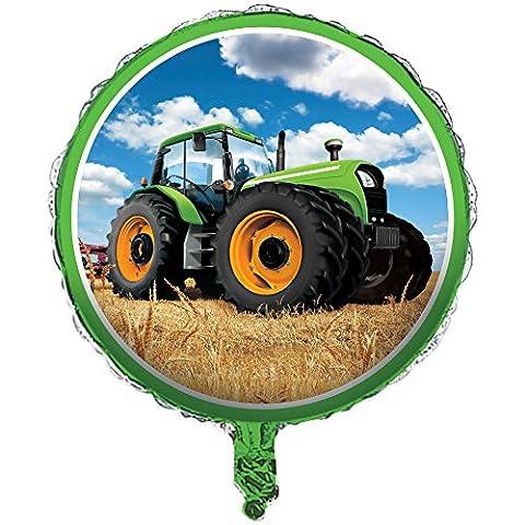 Folienballon * TRAKTOR TIME * zur Dekoration // Deko Trecker Bauernhof Kinder Folien Helium Ballon