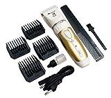 Surker SK-636 Drahtloser Haarschneider für Hunde, Katzen, Haustiere und Haustiere, Klinge aus Edelstahl, wiederaufladbar, manuell, Schneidemaschine für Kurze und Lange Haare