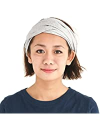 CHARM Casualbox Vorgebunden Bandana Bio Baumwolle Stirnband Herren Damen Kopf B/änder Rot