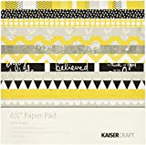 """Kaisercraft Shine Bright Paper Pack (40 Pack), 6 by 6.5"""""""