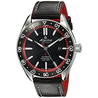 Alpina Men's Analog Swiss-Automatic Watch with Leather Strap AL-525BR5AQ6