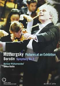 """Moussorgski : Tableaux d'une exposition - Borodine : Symphonie n° 2 - Chostakovitch : Dance tirée de """"L'âge d'or"""""""